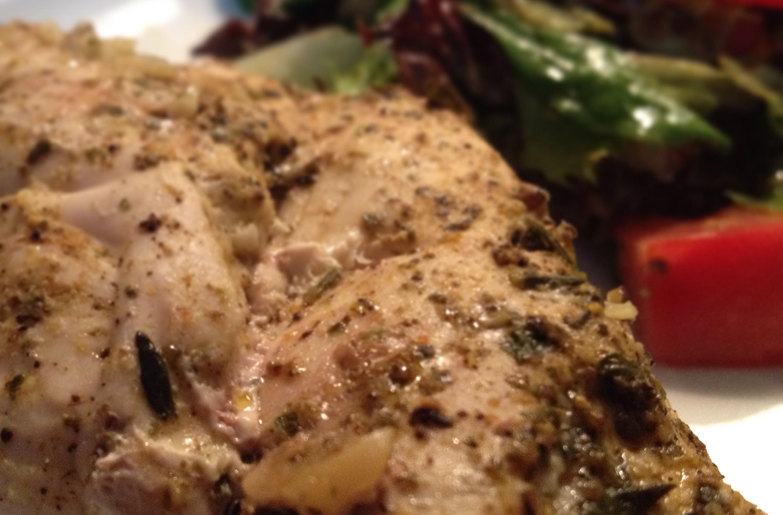 Pan Artur - Pierś kurczaka faszerowana orzechami