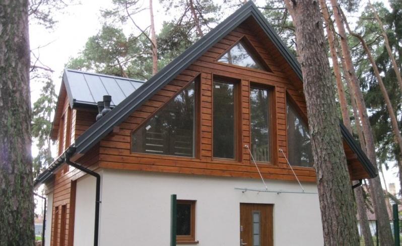 Pan Artur - Jeśli dom, to... drewniany, koniecznie!