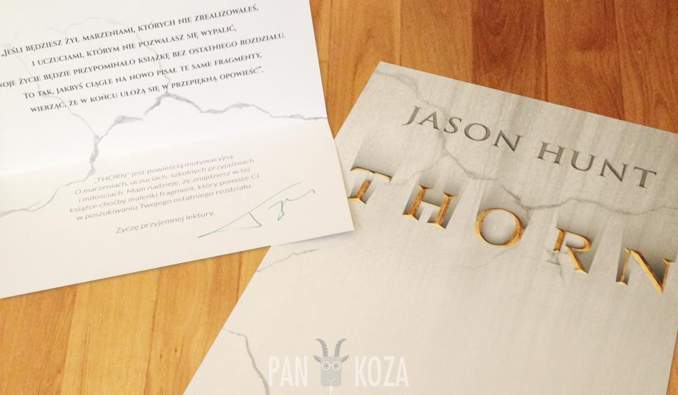 THORN - Jason Hunt sprzedał mi autograf ;)